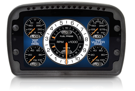 Auto Meter Competition Instruments LCD dashboard
