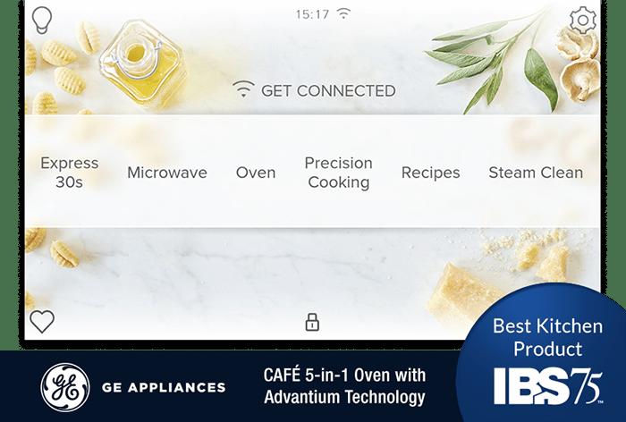 Smart home GUI touchscreen example