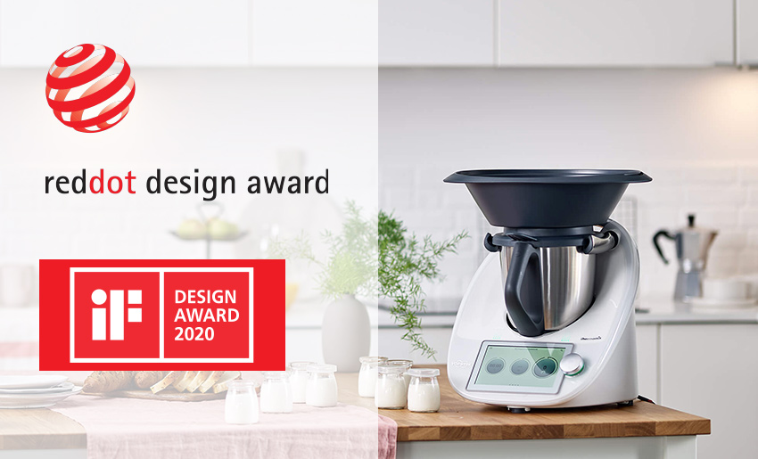 Vorwerk, the embedded UI customer of Crank Software, was recently awarded two UI design awards from Red Dot Design Award